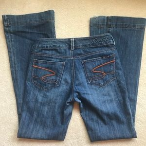 Seven7 Sexy Flare jeans (size 27)